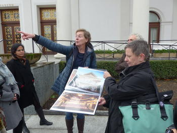 Lisa Poetschki explains the World Heritage Nomination of the City of Baden-Baden