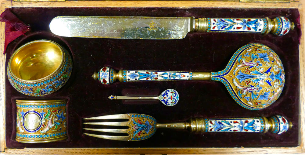 Russian Cutlery Set