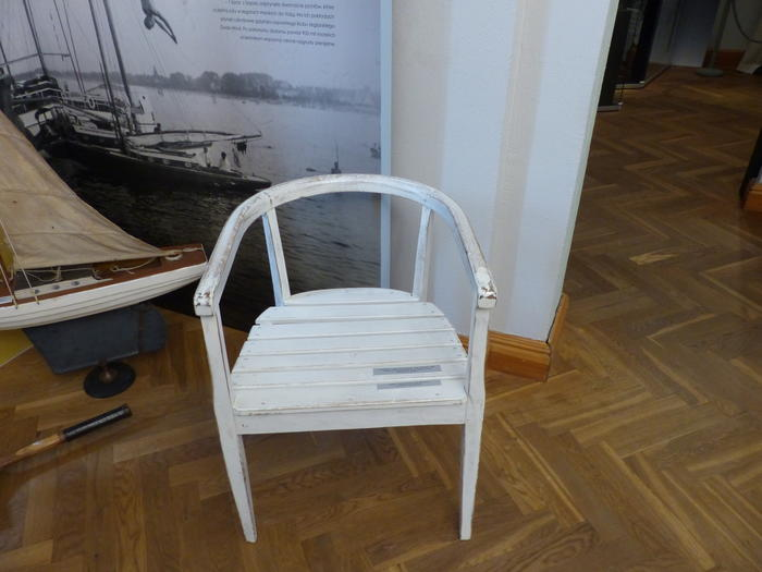 Historical Chair from the Casino Hotel in Sopot (Poland)